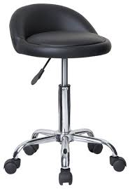 juno adjustable height massage stool wwheels contemporary bar intended for bar stools with wheels plan jpg
