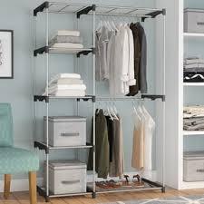 portable closet systems you u0027ll love wayfair