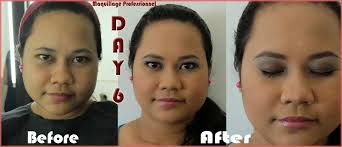 school for makeup artistry vergie blogs before and after pictures for week 2 at mp school of