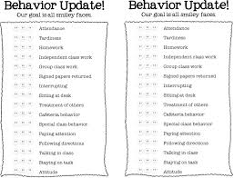 daily behavior report template best photos of daily behavior report template daily behavior