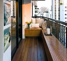 Apartment Patio Decor by Terrace Garden Decoration Ideas India Builders Bench And Planter