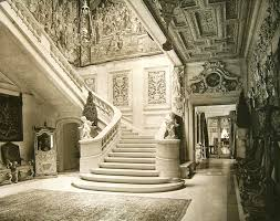 Gilded Age Mansions Floor Plans Mansions Of The Gilded Age Entrance Hall And Staircase William A