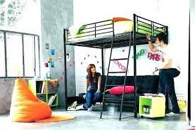 lit en hauteur avec canapé chambre ado lit superpose lit superpose ado lit mezzanine avec