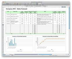 sales forecast spreadsheet example and quarterly sales forecast