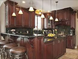 Espresso Cabinets With Black Appliances Kitchen Design Magnificent Dark Kitchen Cupboards Dark Green