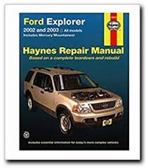 online car repair manuals free 2005 mercury mountaineer windshield wipe control ford explorer mercury mountaineer 2002 2010 haynes repair