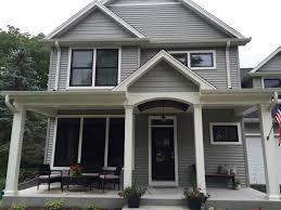 Aluminum Clad Exterior Doors This Batavia Home Is Featuring Casco Hung Aluminum Clad