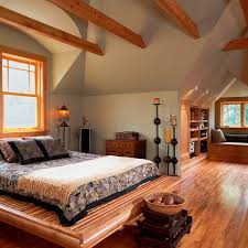 Log Home Bedrooms Bring Home Some Inviting Warmth With The Winter Cabin Style