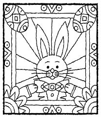 easter bunny eggs coloring crayola