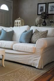 Slipcovered Furniture Sale Comfortable White Slipcovered Sofa That Brings Sophistication In