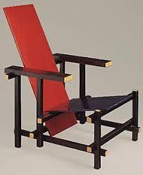 chaise rietveld gerrit rietveld chaise et bleue 1923 d e s t i l j