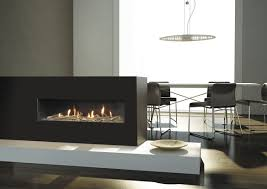 modern gas fireplace square white square ceiling light fixture