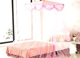 kids childrens girls princess crown bed canopy insect mosquito net
