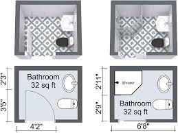 and bathroom floor plans best 25 small bathroom floor plans ideas on small