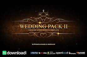 15 top wedding after effects templates free download free after