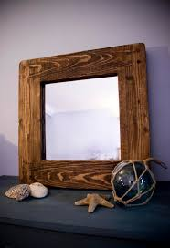 handmade available on etsy uk rustic mirror with eco friendly