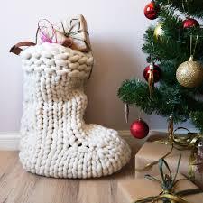 white christmas stocking u2014