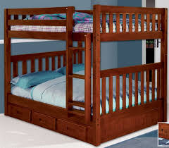 Mission Full Over Full Bunk Bed Bed Frames Discovery - Full bunk beds