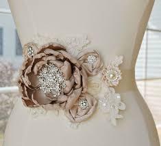 taupe bridal sash weddings wedding weddings and