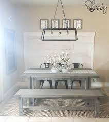 How To Build A Farmhouse Table Diy Industrial Farmhouse Table And How To Video Shanty 2 Chic