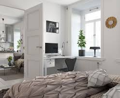 Bed Designs For Newly Married Bright Scandinavian Decor In 3 Small One Bedroom Apartments