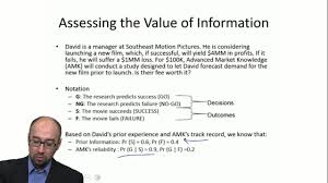 assessing the value of information emory university coursera
