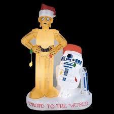 wars christmas decorations wars christmas lawn decorations craziest gadgets