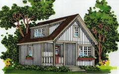 Simple Cabin Plans With Loft Easy To Build Cabin Plans