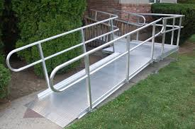 Wheelchair Ramp Handrails Wheelchair Ramps Handicap Ramps Aluminum Ramps