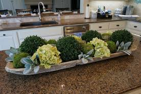 the most beautiful kitchen island flower arrangement ideas