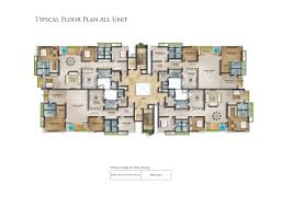 typical floor plan the gardenia floor plans 4bhk apartments in anna nagar chennai