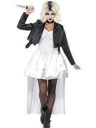 Halloween Costume Bride Diy Bride Chucky Tiffany Costume Costumes