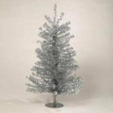 artificial tinsel trees ebay