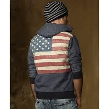American Flag Beanie Lyst Denim U0026 Supply Ralph Lauren American Flag Hoodie In Blue