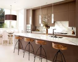 Eat In Kitchen Lighting by Kitchen Countertop Options Kitchen Contemporary With Pendant