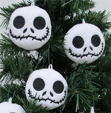 amazon com nightmare before christmas plush ornament set