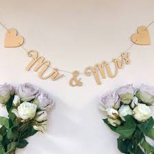 mr and mrs gold garland by grey interiors