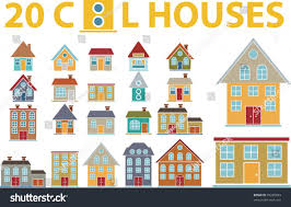 Coolhouses Com Cool Houses Vector Stock Vector 35260693 Shutterstock