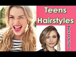 simple cute back to hairstyles for teens youtube