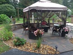 Gazebo Fire Pit by Concord Nh Patio Pictures Urellas Irrigation U0026 Landscaping Llc