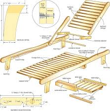 Free Woodworking Plans Pdf by Marvellous Chaise Lounge Plans Free Woodworking Plans To Build A