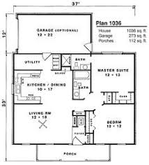 2 bedroom ranch house plans i like the open floor plan but it would need another bedroom and a