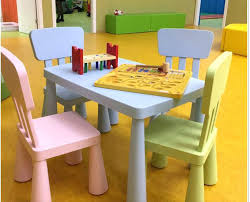 Children S Dining Table Dining Table Toddler Set And 6 Chairs Booster Seat Modest Design