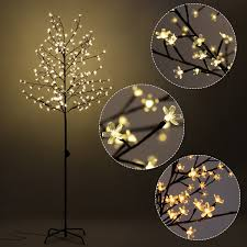 costway rakuten costway cherry blossom led tree