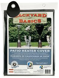 cover for patio heater amazon com backyard basics patio heater cover garden u0026 outdoor