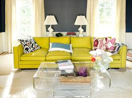 yellow and grey kitchen eclectic living room eclectic living room
