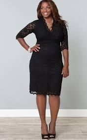 curvalicious clothes plus size dresses scalloped boudoir
