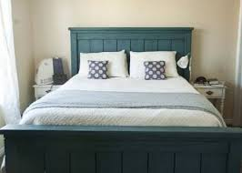 King Bed Frame With Headboard New How To Make A Bed Frame And Headboard 19 About Remodel
