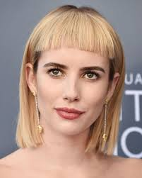 lob hair with side fringe best fringe hairstyles for 2018 how to pull off a fringe haircut