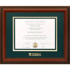 diploma frames u of a diplomat diploma frame alberta1215d of